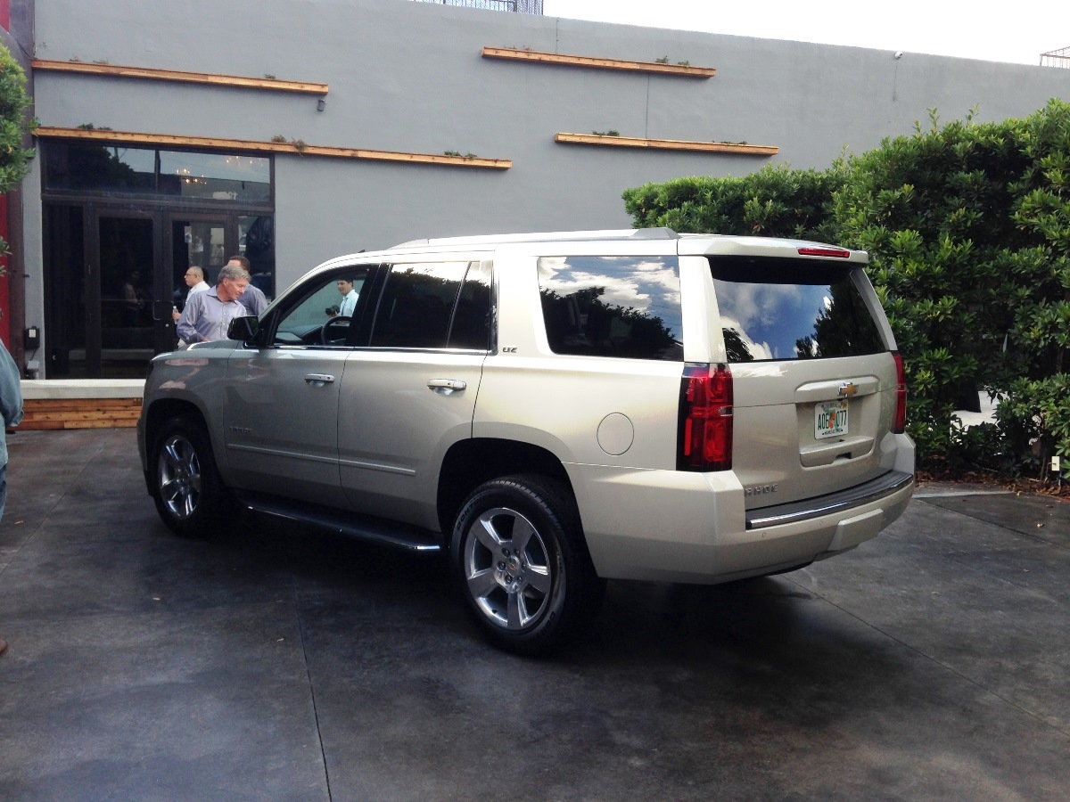 2015 Chevrolet Tahoe   First Look In Miami