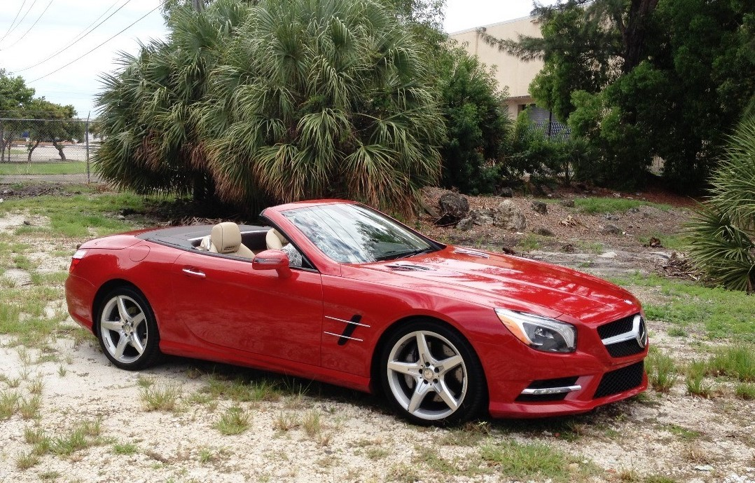 2013 Mercedes Benz SL  550 Roadster