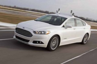 Ford Fusion Hybrid Automated Research Vehicle