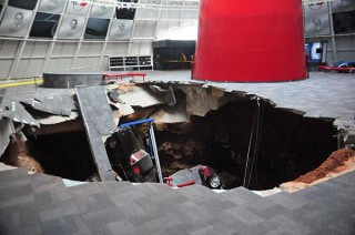 Sinkhole National Corvette Museum