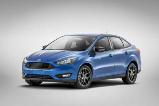 2015 Ford Focus Sedan facelift