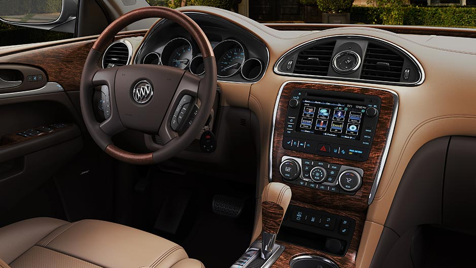interior cars model enclave buick overview