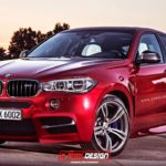 2016 BMW X6 M rendered
