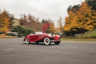 1937 mercedes-benz 540 k special roadster auction