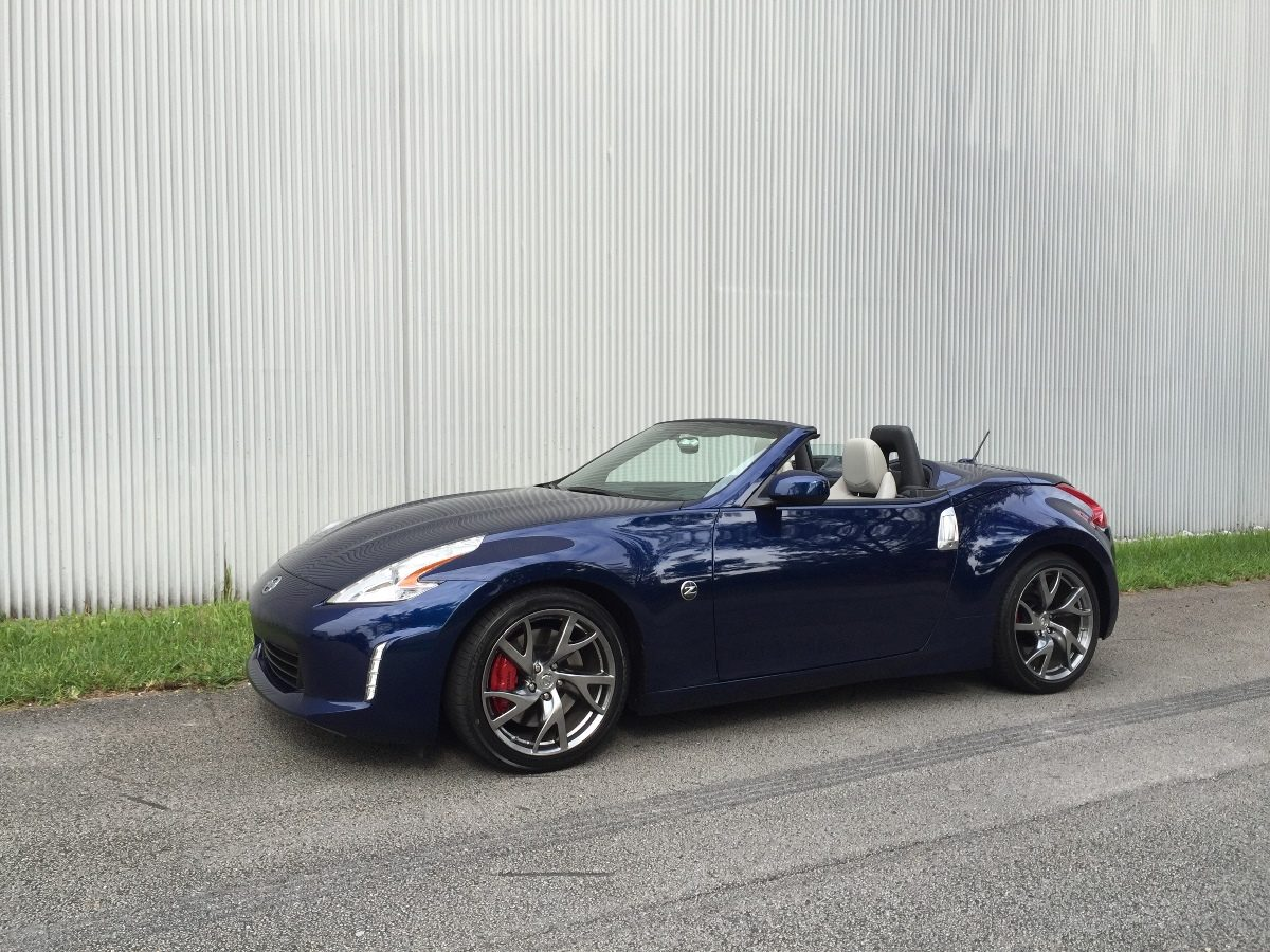 Test Drive Review Of The 2016 Nissan 370z Convertible