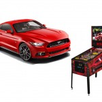 Ford Mustang themed Pinball game